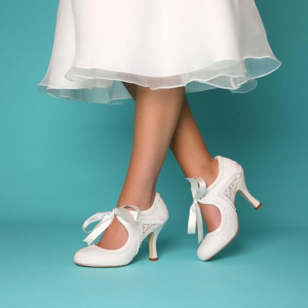 bianca bridal shoe boot