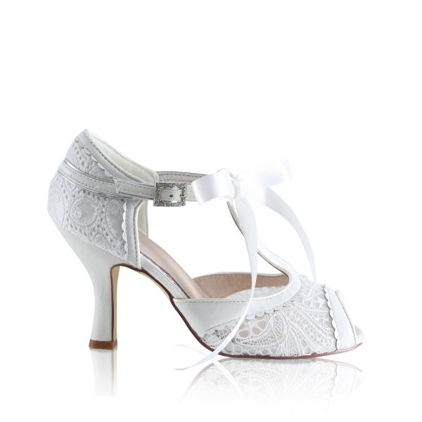veronica vintage bridal shoes
