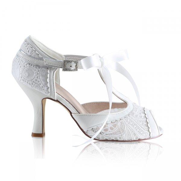 Vintage Lace Wedding Shoes Uk