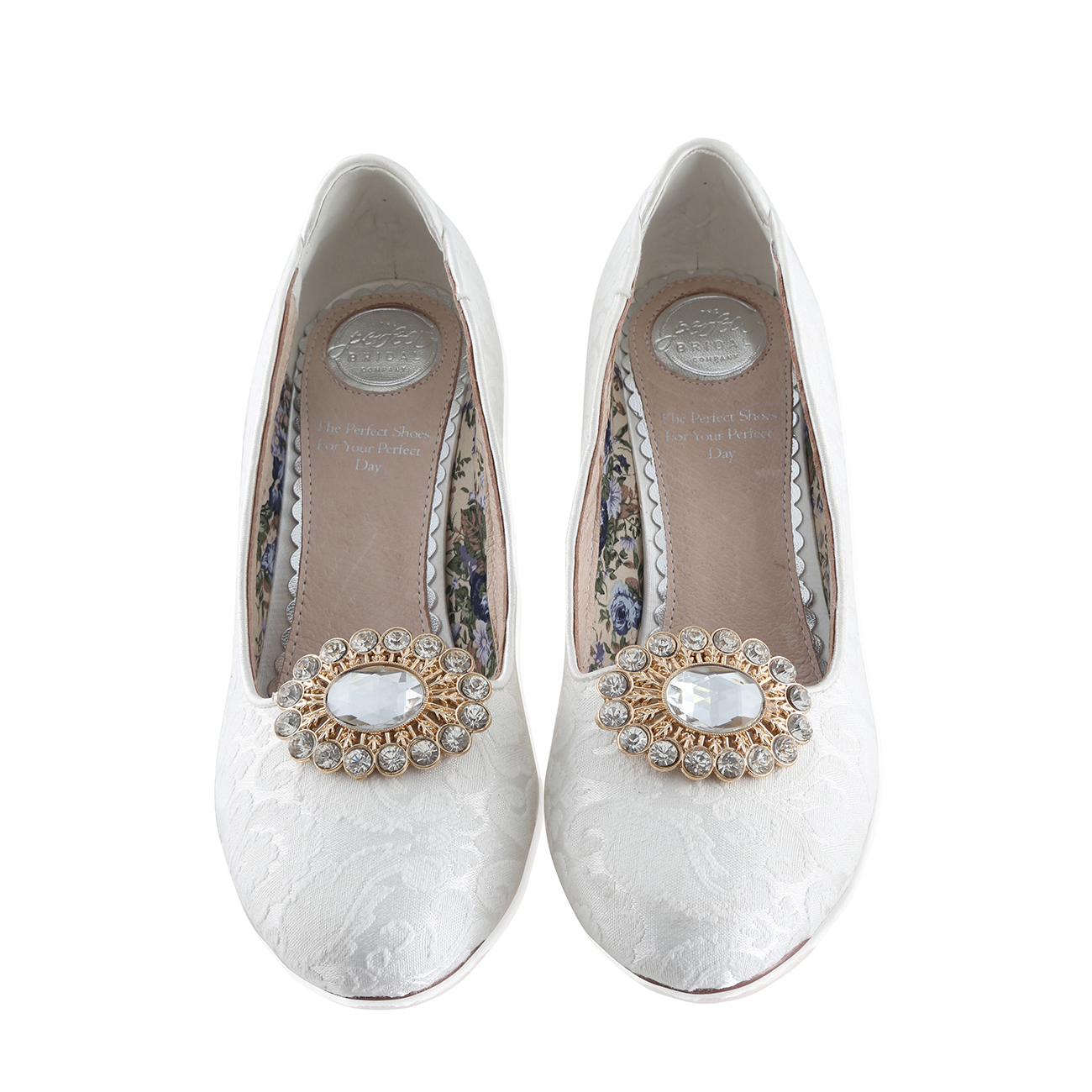 e1c7e31bd pear - Perfect Shoe Clips - The Perfect Bridal Company