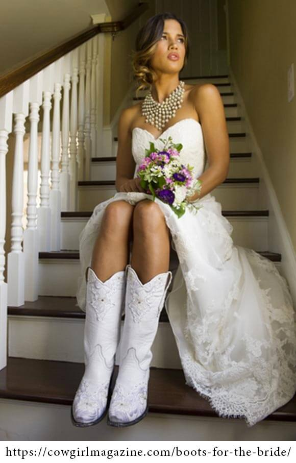 Wearing Boots on Your Wedding Day