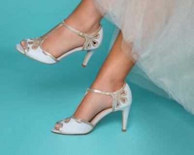 esme grey microsuede sandal