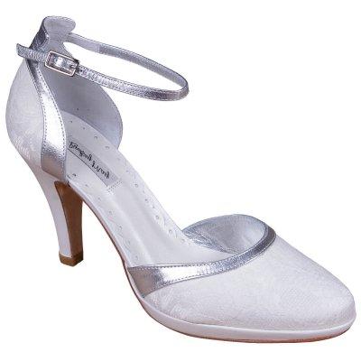 elena silver bridal shoes