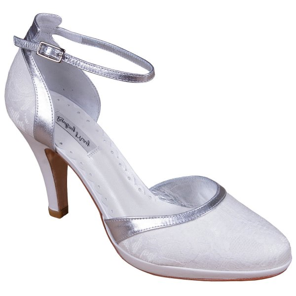 elena silver bridal shoes