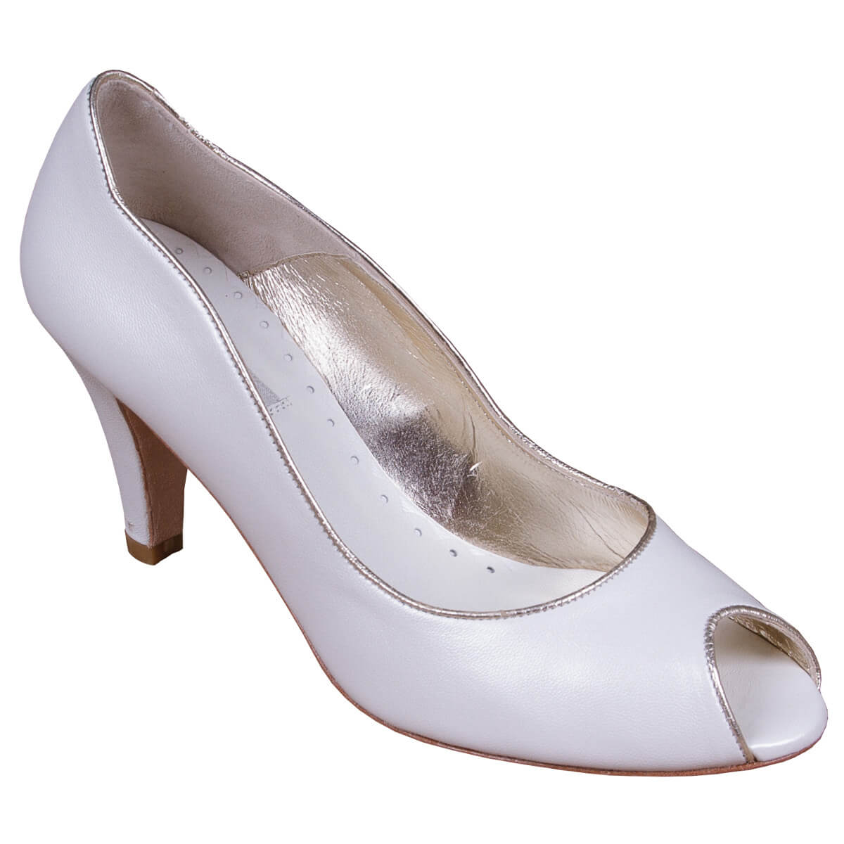 299bec96a52f Maria Gold - Wedding Shoes - The Perfect Bridal Company