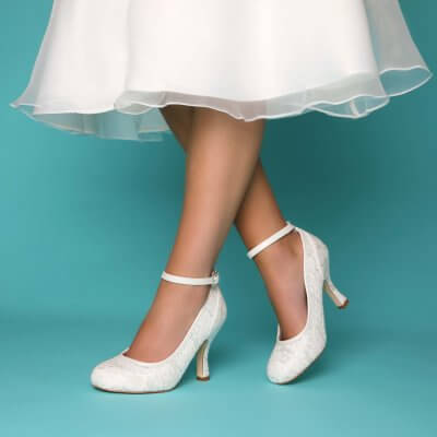 dixe lace and brocade vintage bridal shoes