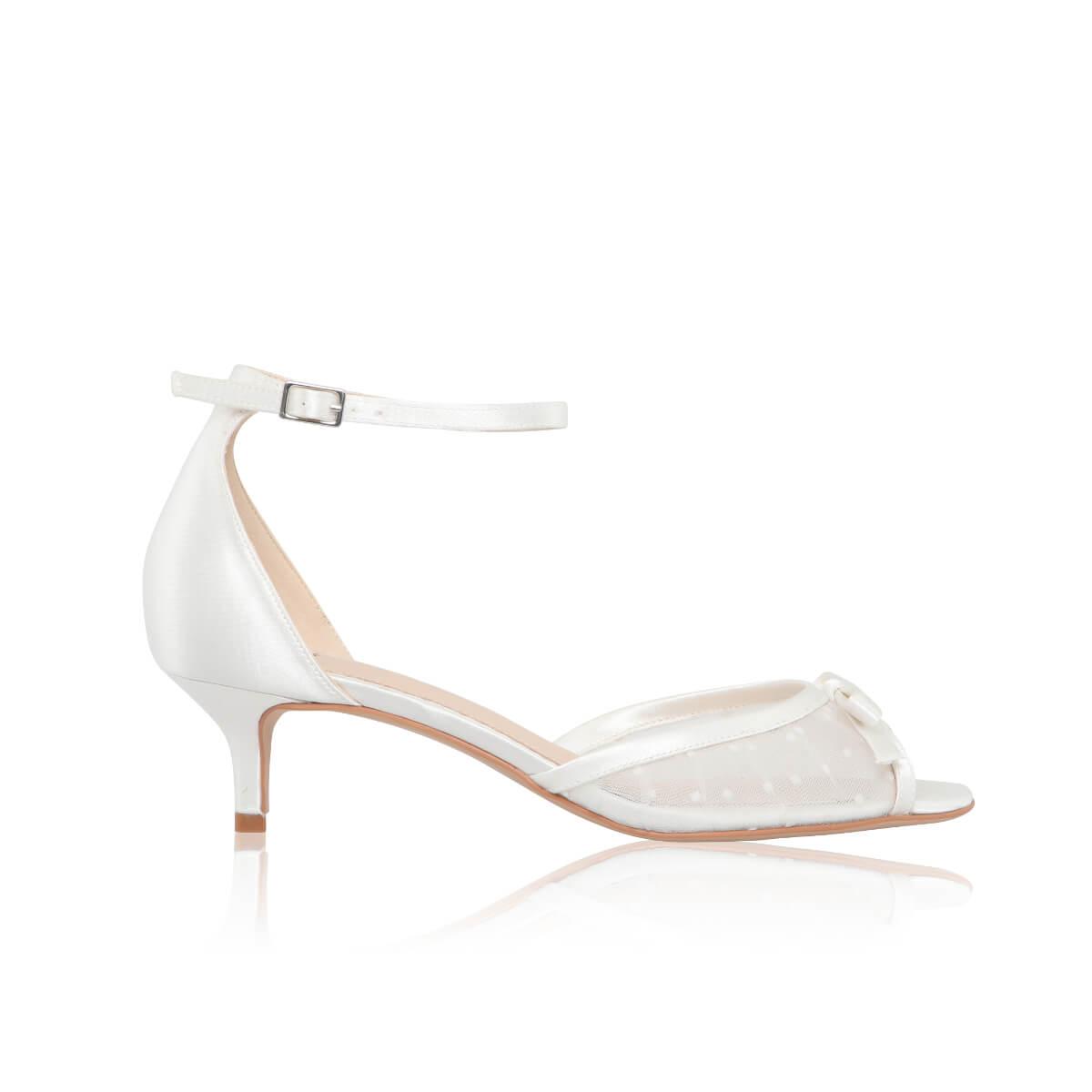 Ea Low Heel Wedding Shoes The