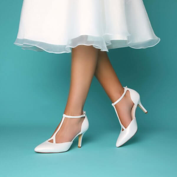 jaime leather t-bar vintage bridal shoes
