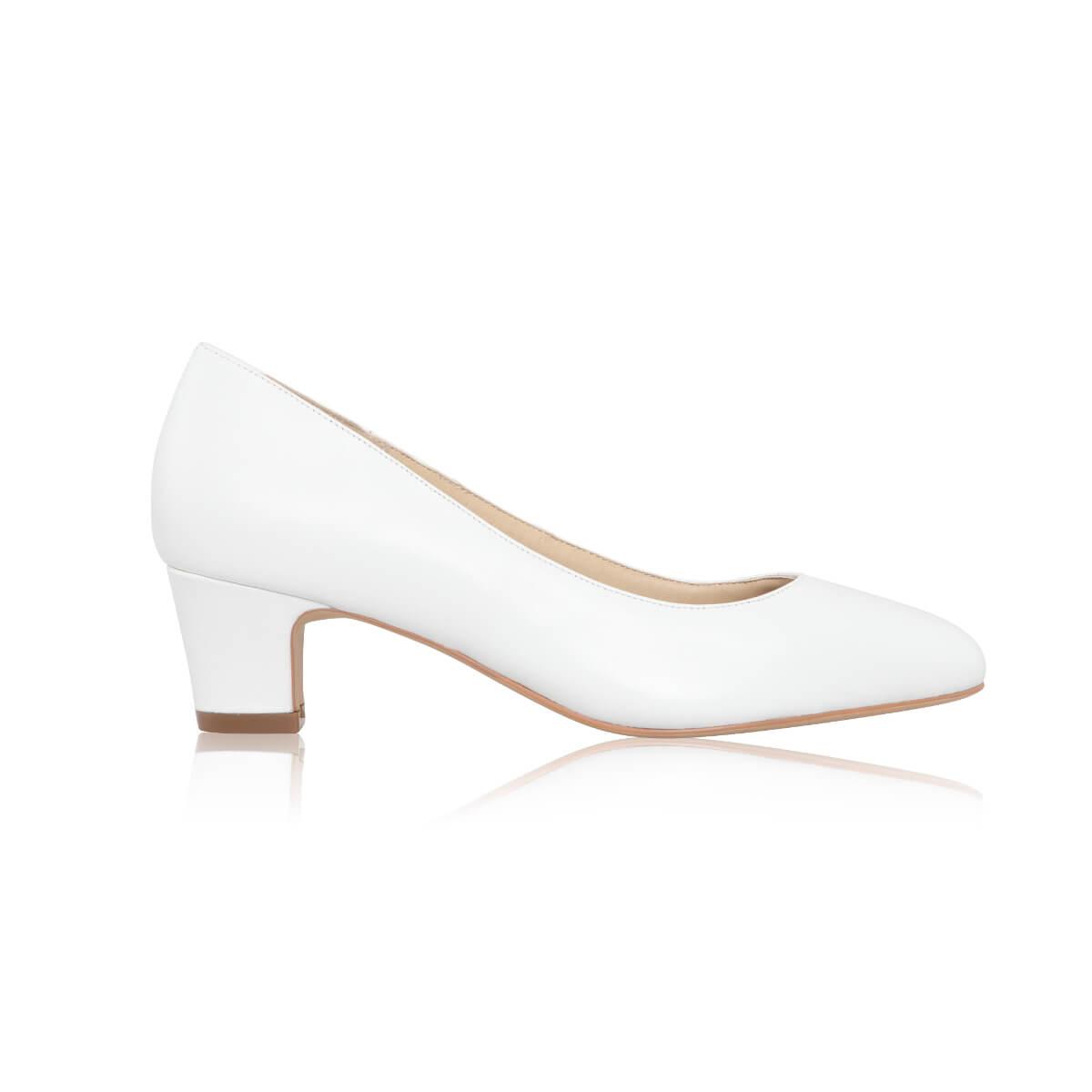 Melanie Leather - Low Heel Wedding