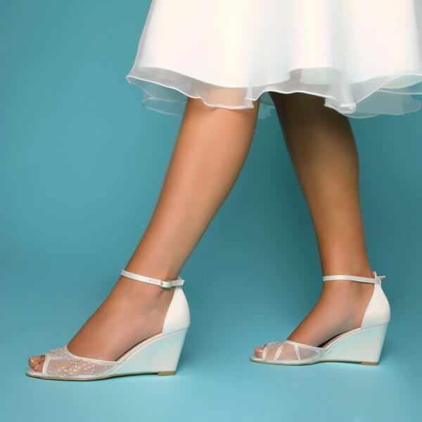 naomi wedding wedges
