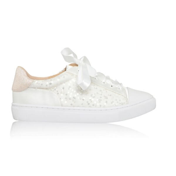 nikki lace wedding sneakers