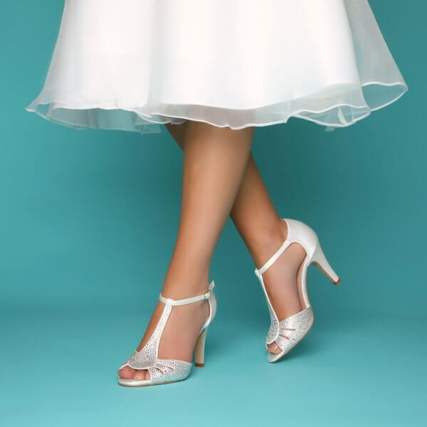 perla ivory crystal wedding shoes