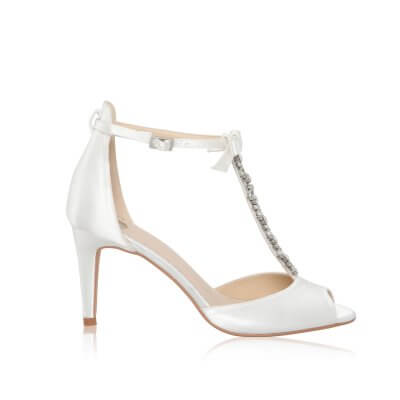 phoenix t-bar bridal shoes