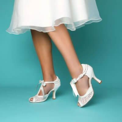 veronica vintage bridal shoes