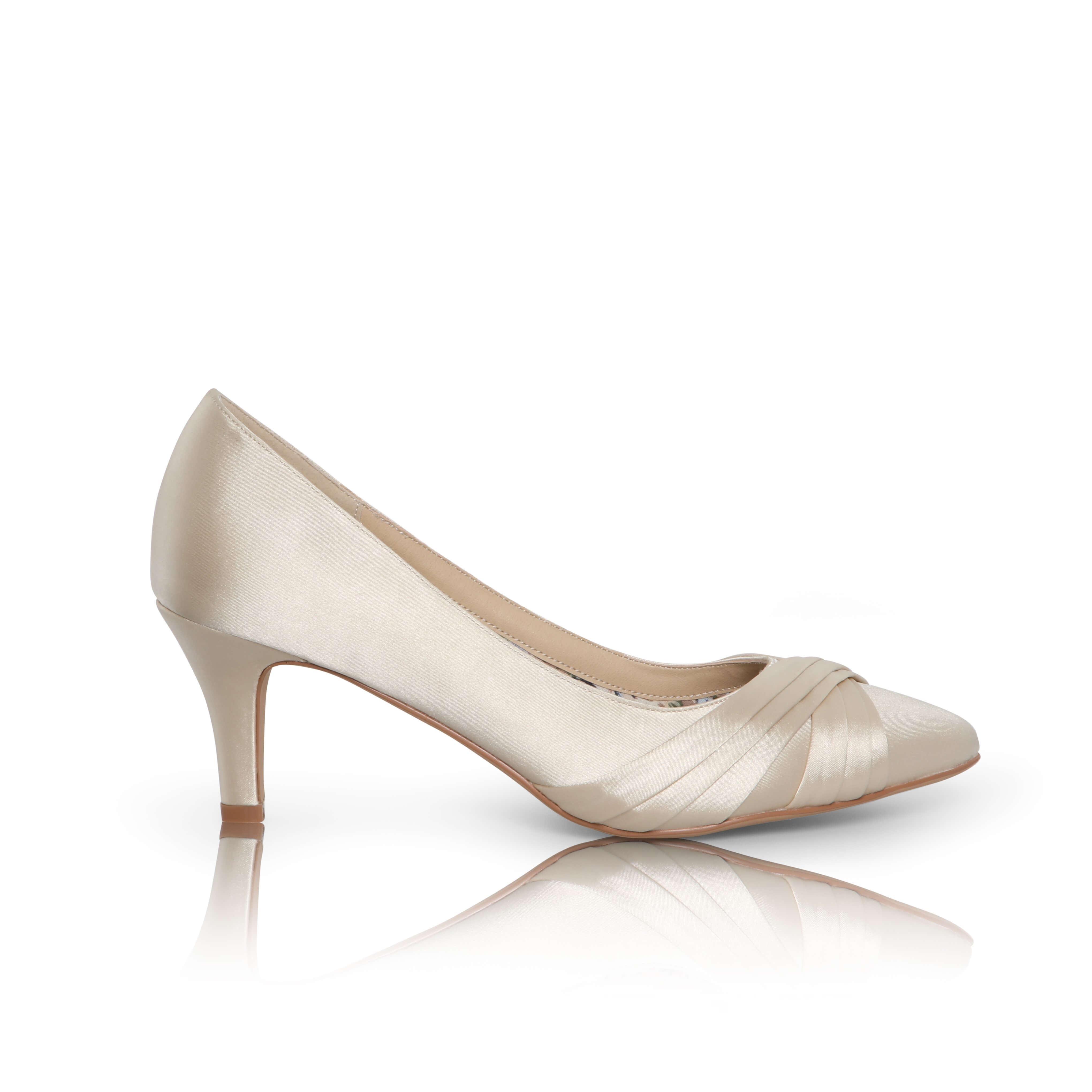 Sally - satin occasion shoes - The