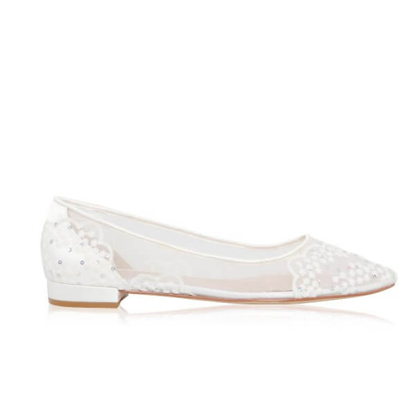 tess wedding flats